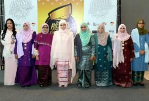 Raja Permaisuri Agong berkenan rasmi Festival Busana Tradisional Kreatif KL 2019