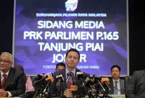 SPR umum PRK Tanjung Piai pada 16 November