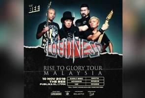 Loudness bakal gegar pentas Malaysia dalam konsert jelajah Rise to Glory