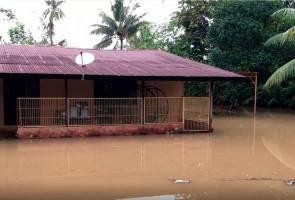 Sik daerah terbaru dilanda banjir di Kedah