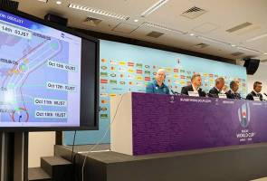 Piala Dunia Ragbi: Dua perlawanan dibatalkan akibat Taufan Hagibis