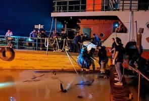 Mayat lelaki ditemukan diikat dengan batu di Sungai Rajang