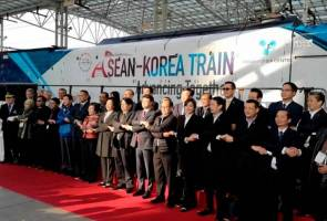 ASEAN-Korea Train dilancar, disasar perkukuh kerjasama dengan Asia Tenggara