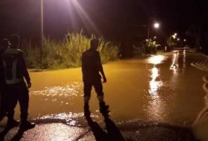 Dua kampung di Bentong dilanda banjir kilat