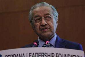 Nilai kekeluargaan runtuh, Tun Mahathir kritik perkahwinan sejenis
