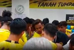 Harimau Malaya: Ngauman kata-kata semangat sebelum perlawanan