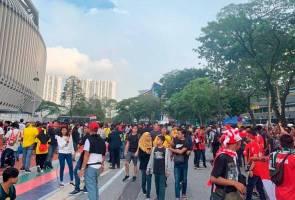 Malaysia vs Indonesia: Keadaan di stadium terkawal