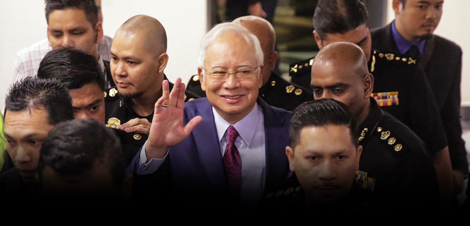 Najib: Finally, Seen You in Court