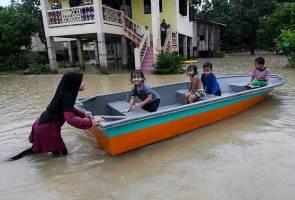 Banjir di Kelantan pulih sepenuhnya, semua PPS ditutup