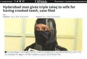 Isteri dicerai talak 3 kerana gigi rongak