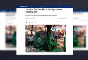 Gua Tham Luang dibuka kepada orang ramai