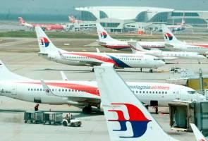 Taraf keselamatan penerbangan: Amerika 'tendang' Malaysia satu tangga