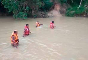 Remaja dikhuatiri lemas selepas terjatuh dalam sungai di Lunas