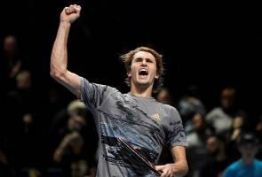 Pusingan Akhir ATP: Zverev lebur harapan Nadal
