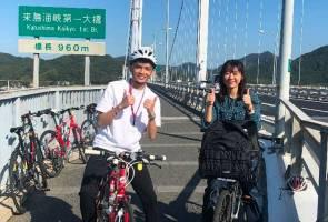 Shimanami Kaido, laluan berbasikal terbaik di dunia!