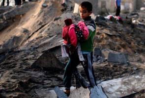 32 maut akibat kekejaman yahudi, dunia digesa beri sokongan kepada Palestin