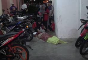 Pemuda maut terjatuh dari tingkat empat PPR