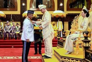 Ketua Polis Negara dahului penerima Darjah Kebesaran Perak