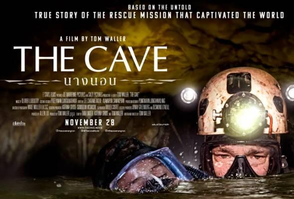 """""""The Cave"""" turut dibintangi empat penyelam yang terlibat secara langsung dalam operasi menyelamat pada 2018."""