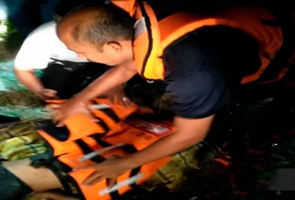 Remaja OKU dijumpai lemas di Sungai Paka