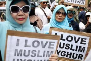 Rakyat Indonesia berhimpun, tuntut kerajaan beri bantuan ketenteraan terhadap Islam Uighur