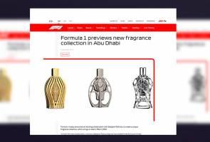 F1 perkenal minyak wangi atasi bau hangit tayar