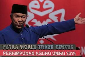 Bahtera UMNO tidak akan dibiar tersasar, jangan ditebuk dari dalam - Zahid