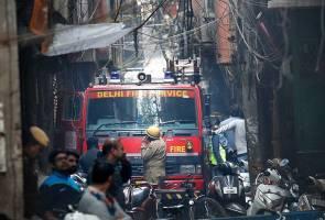 43 maut dalam kebakaran kilang