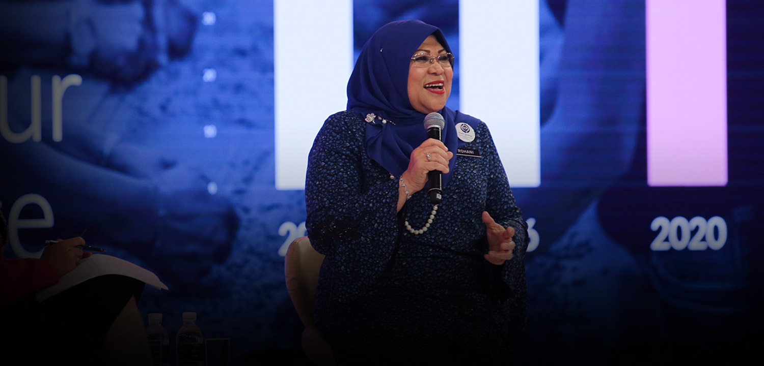 Minister Rohani Karim on Gender Equality: Hit Targets, Not Chase Quotas