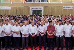 Empat jabatan kerajaan Pahang terima pencapaian lima bintang