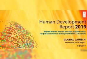 Indeks Pembangunan Manusia: Malaysia raih skor tinggi