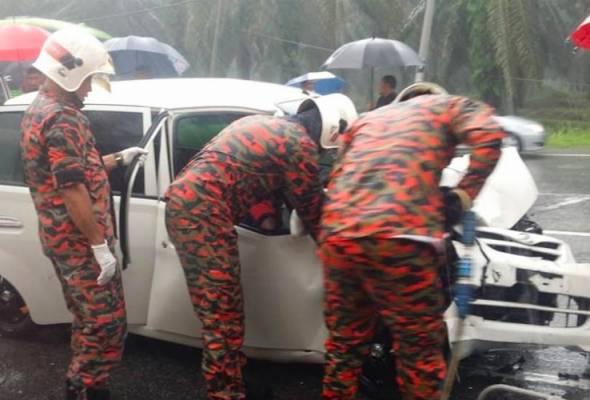 Lelaki maut kereta bertembung pacuan empat roda