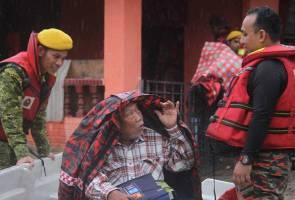 Banjir: Mangsa meningkat, lebih 6,000 dipindahkan