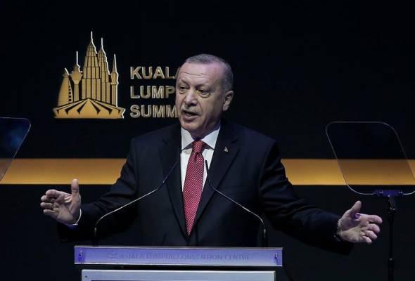 Tiada langsung kemajuan dalam dunia Islam, sindir Erdogan terhadap OIC