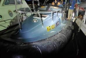 Detik cemas bot milik Kastam ditembak penyeludup di perairan Semporna