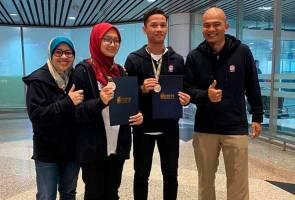 Empat pelajar MRSM menang emas pertandingan robotik antarabangsa