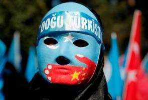 Tindas umat Islam Uighur - Amerika undi sekat China