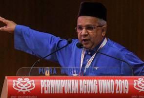 PAU2019: 'Baru 18 bulan kita dah merempat... mana jati diri orang UMNO?'