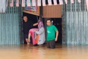 97 keluarga di Membakut berteduh di PPS akibat banjir