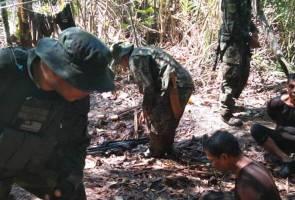 Polis tahan pencuri kayu warga Filipina