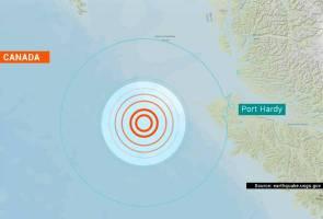 Gempa bumi 6.0 magnitud landa Kanada