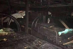 Bilik tidur asrama tahfiz musnah dalam kebakaran