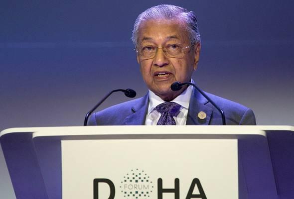 Tun Dr Mahathir lantang kritik AS di Forum Doha