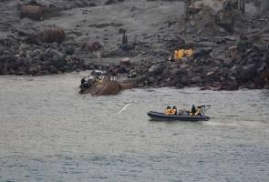 Angka kematian gunung berapi White Island melonjak 16 orang