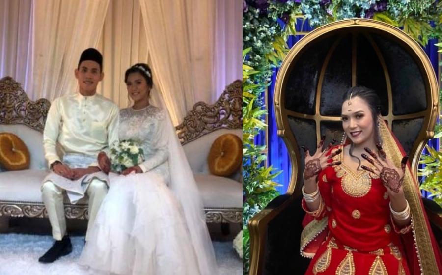 Fara Hazel selamat bergelar isteri kepada Tengku Mohammad Kamal