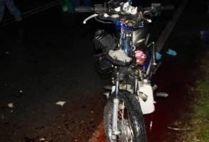 Anggota Rela maut motosikal rempuh treler