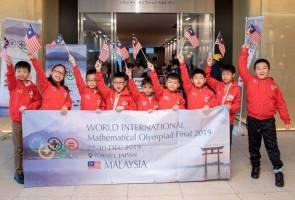 9 pelajar harumkan nama negara, menang pingat emas WIMO di Tokyo
