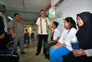 Hospital Sri Aman bakal jadi 'Lead Hospital' - Dr Lee