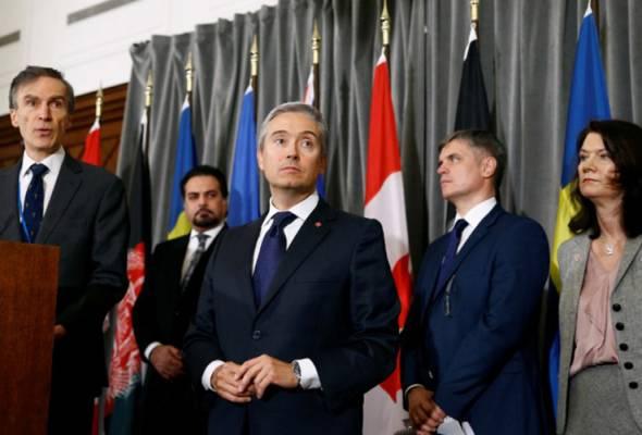 Lima negara mangsa nahas pesawat ditembak Iran tuntut siasatan antarabangsa