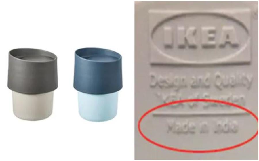 IKEA tarik balik jualan cawan 'beracun'